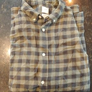NWT H&M guys flannel